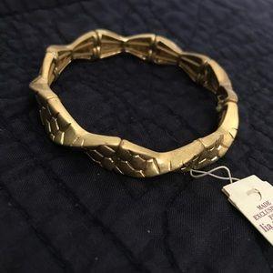 Lia Sophia matte gold bracelet